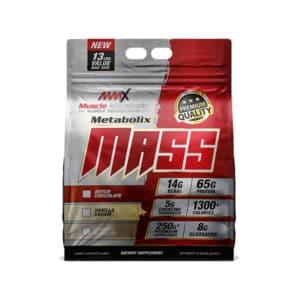 MMX Metabolix Mass Gainer 13LBS Torn