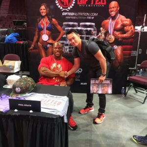 Phil Heath from Gifted Nutrition