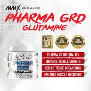Phrma Grd Glutamine 80 Servings