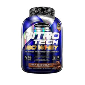 Nitro Tech 100% ISO Whey