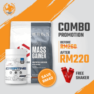 Combo DY-Supermass Gainer 12lbs & M...