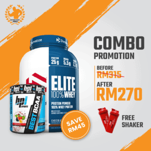 Combo DY-Elite Whey 5lbs & BPI- Bes...