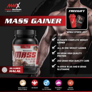 MMX Metabolix Mass Gainer 2.5LBS