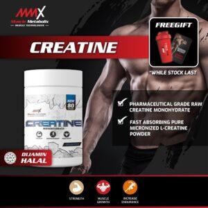 MMX Creatine 80 Servings