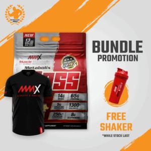 MMX Mass + T-Shirt Bundle Deals